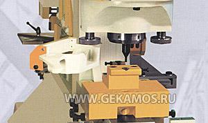 Пробивка отверстий в полке и стенке профилей U от 40 до 80 мм
