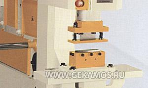 Оборудование для вырубки вентиляционной решётки в сборе на станке