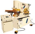 Позиционирующие устройства для пресс-ножниц и пробивных машин