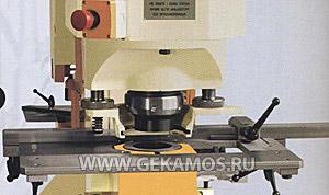 Пробивка отверстий крупного диаметра в сборке на станке